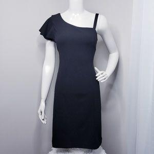 Bar III Ruffle Sleeve Dress